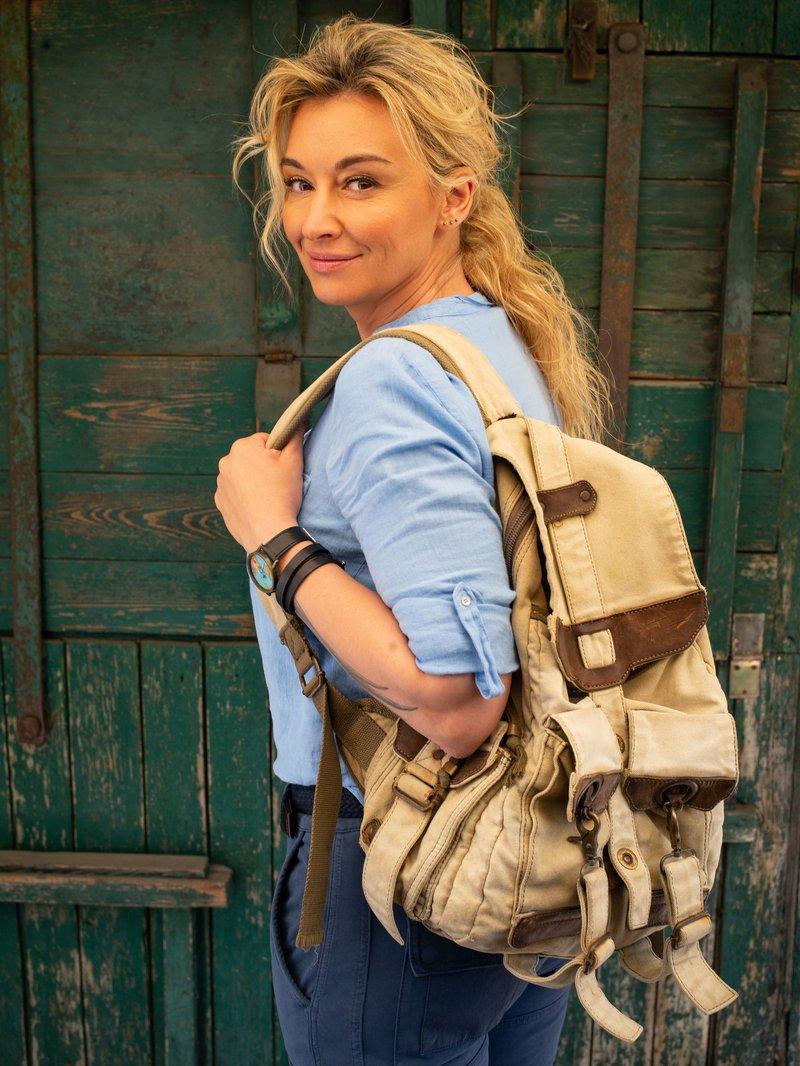 Martyna z plecakiem